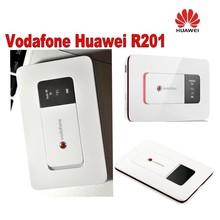 3g mifi router Vodafone HUAWEI R201 HSUPA 3g WIFI Router,Tri-band (900/1900/2100) 7.2Mbps, 5pcs/lot DHL Free shipping