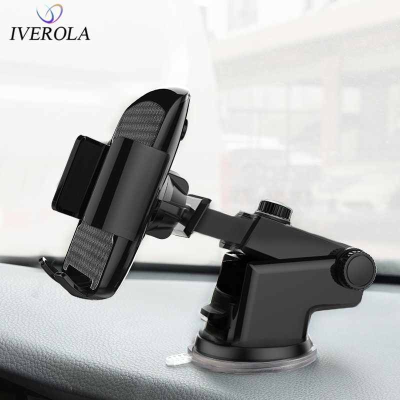 Univerola Phone-Holder Car-Suction-Cup-Mount-Holder Car-Mount 7-Phone-Stand-Support Samsung S9