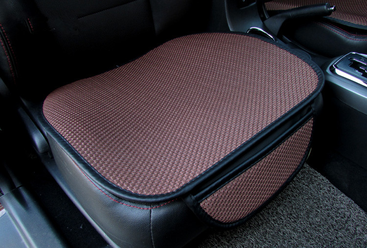 Image 5 - Cool car seat cushion Car Seat Cover car mats Set Breathable Wear comfortable linen car Seating cover-in Automobiles Seat Covers from Automobiles & Motorcycles