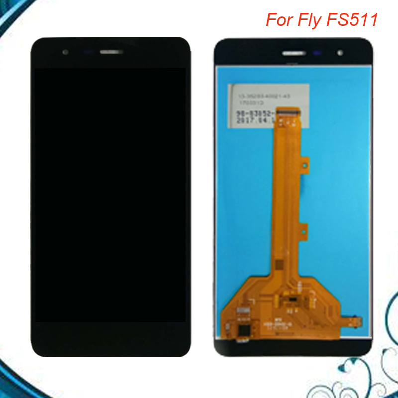 100% Tested OK For Fly FS511 FS 511 Cirrus 7 LCD Display Panel & Touch Screen Digitizer Assembly Repair Part IN Stock
