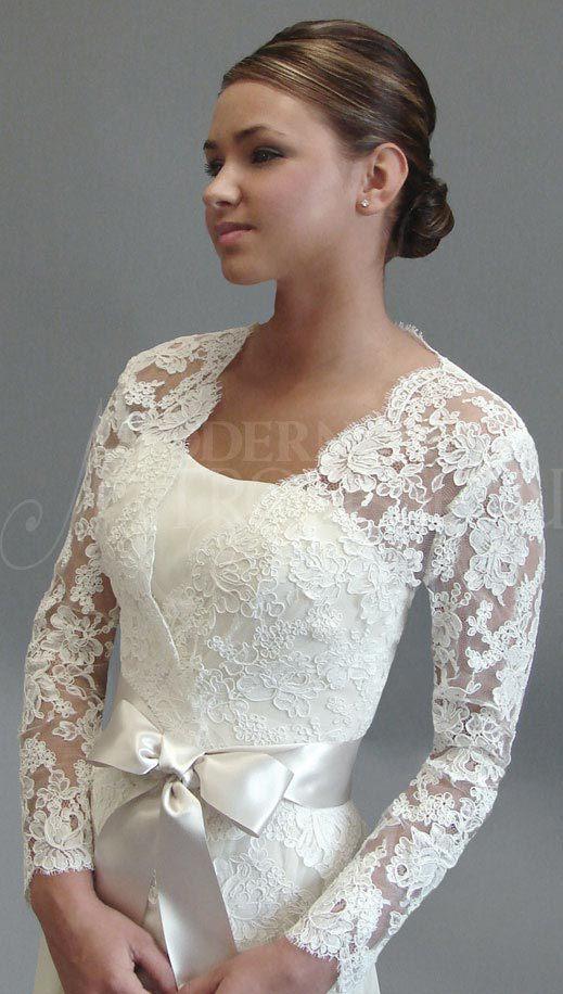 Plus size shrugs for wedding dresses