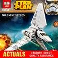 LEPIN 05057 Nueva Estrella de la Serie Guerra Imperial Shuttle Tydirium Montado Bloques de Construcción Ladrillos Juguetes Compatible con 75094 Regalos