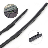 2pcs High Quality 26 14 Hybrid 3 Section Rubber Rain Window Windshield Wiper Blade For Toyota