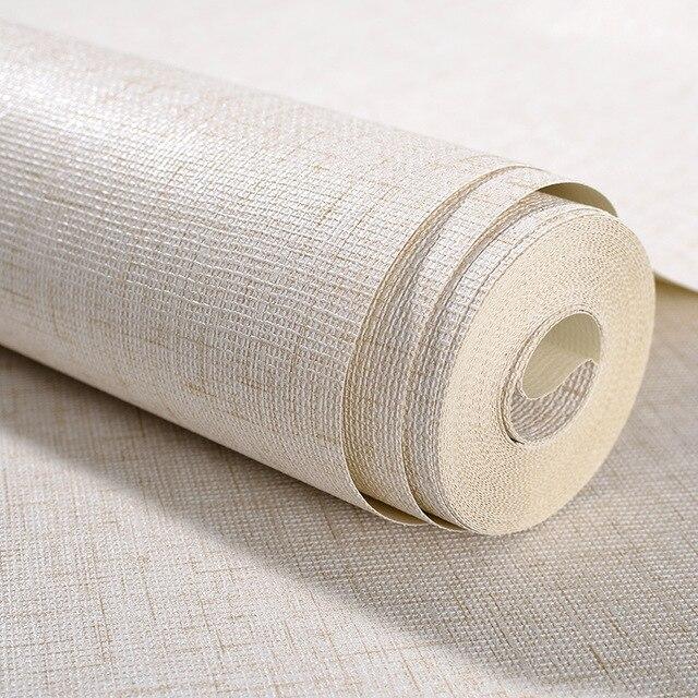 Italien Style Lin Motif Salon Papier Peint Simple Couleur Papiers ...