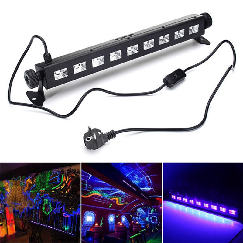 Big Promotion Stage Lighting Effect LED Purple UV Lamp Light For Disco KTV Club Bar Party Indoor Holiday Decoration Lighting mipow btl300 creative led light bluetooth aromatherapy flameless candle voice control lamp holiday party decoration gift