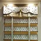 Melhor de Luxo Cortinas Romanas com o Jeito para cima e para baixo o sistema tipo rolo DIY LOGOTIPO da Empresa Roman Shades para Lobby Sala de restaurante - 3