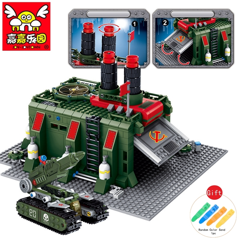 все цены на 794pcs Building Blocks Tanks Action Figure War Factory Bricks Tank Military Model Compatible With Legoed Army Toys for Boys онлайн