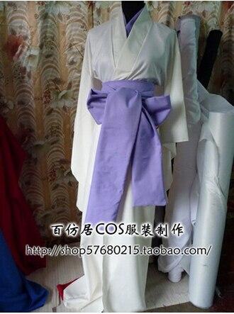 Free shipping Vampire Knight Hiou Shizuka Kimono Cosplay Costume