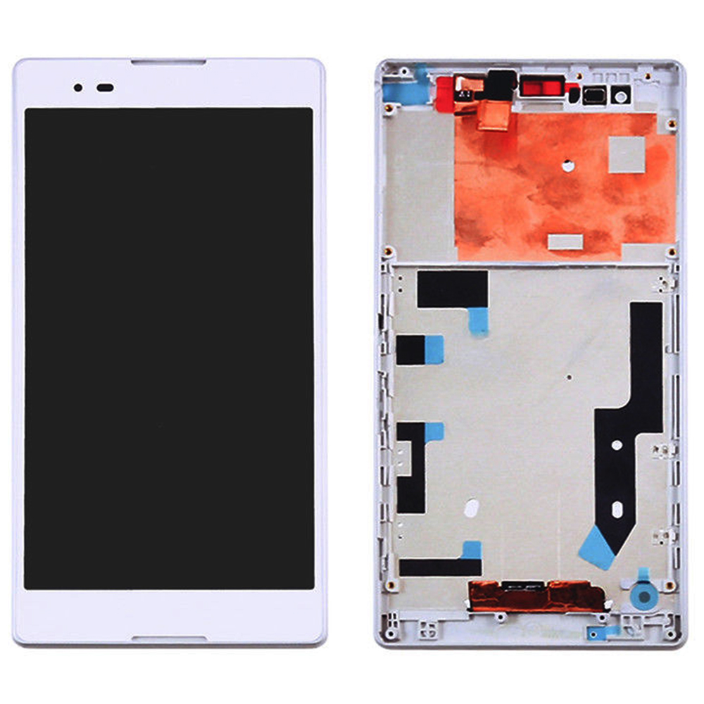 Per Sony Xperia T2 Ultra D5322 D5303 D5306 XM50h Display LCD Monitor Panel + Touch Screen Digitizer Sensore di Vetro di Montaggio telaioPer Sony Xperia T2 Ultra D5322 D5303 D5306 XM50h Display LCD Monitor Panel + Touch Screen Digitizer Sensore di Vetro di Montaggio telaio