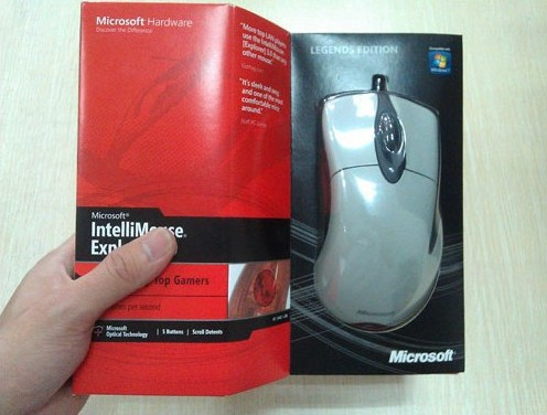 HKPOST Microsoft IntelliMouse EXPLORER 3.0 legends , IME 3.0 Gaming mouse, Gaming mice Legendary Edition 3.0