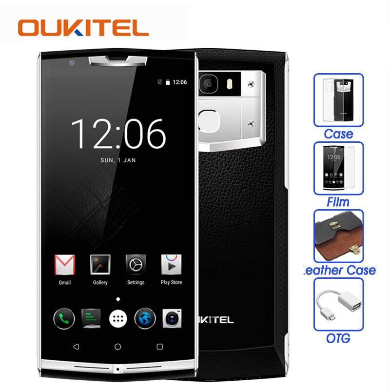 bilder für Oukitel k10000 pro 4G Handy 10000 mAh MTK6750T Octa-core 5,5 zoll Android 7.0 3 GB + 32 GB 13MP Fingerprint ID OTG Smartphone