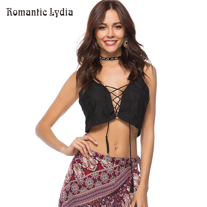 Women Summer Sexy Casual Camisole Solid Tank Tops Lace Strap Tassel Bustier Corset Short Crop Top Fashion Beachwear New Arrival
