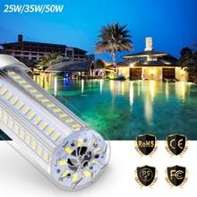 High Power Lamp E27 LED Bulb Light 220V E26 Corn 110V 25W 35W 50W Bombilla No Flicker Lighting For Home 5730