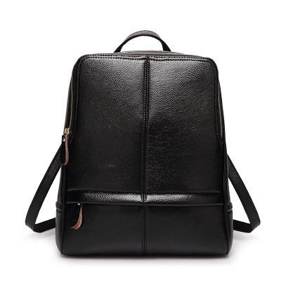 Women Backpack Genuine Leather Backpack Women 2017 Hotsale School Bags for Teenagers Fashion Backpacks for Teenage