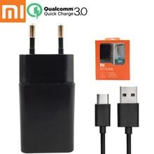 Original xiaomi mi5 Fast Charger,xiaomi 5s EU QC 3.0 Qualcomm Quick Charge 3.0 12V/1.5A USB Wall Travel Apadter + Type-c cable