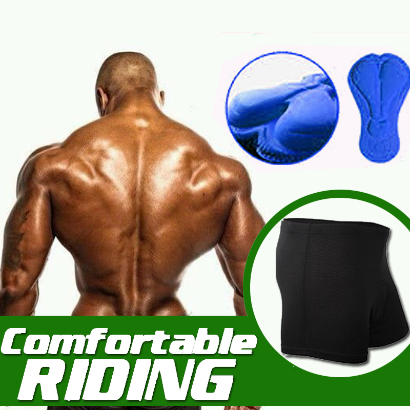 2020 New Men Women Bike Cycling Underwear Blue 3D Gel padded Coolmax Gel Black Fitness Underpant Ciclismo Bicycle Shorts S-4XL
