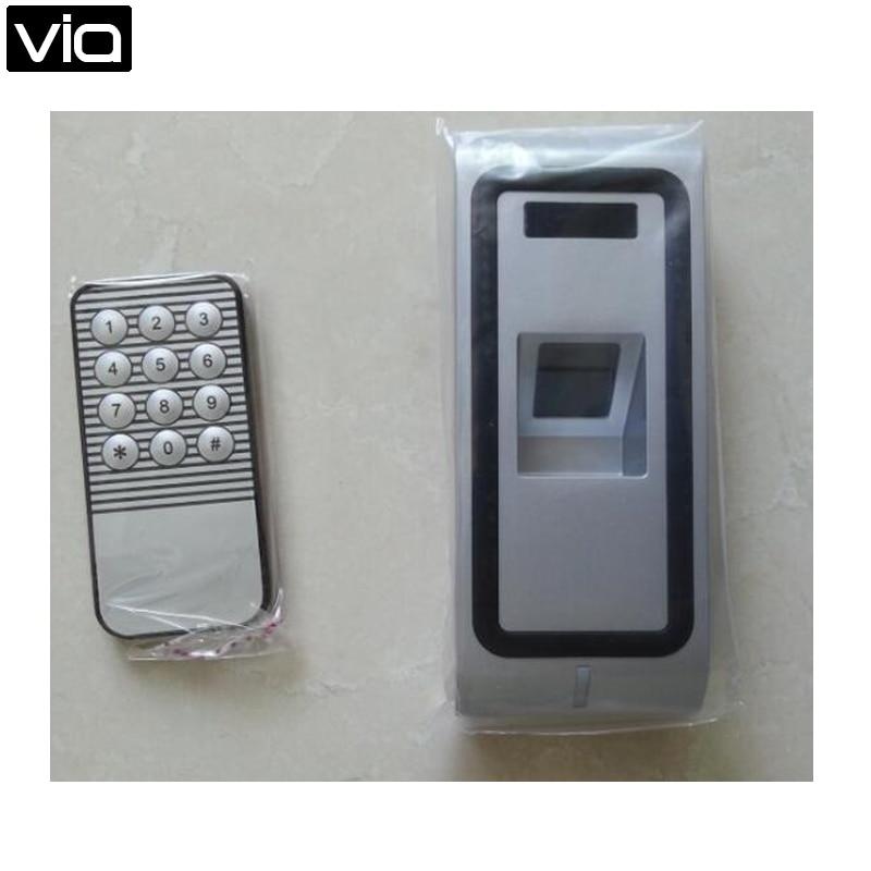 F2 Free Shipping New Standalone Metal Waterproof Biometric Fingerprint Access Controller & Time Attendance RFID Reader biometric fingerprint access controller tcp ip fingerprint door access control reader