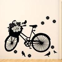 G089BICYCLE Wall Sticker Bike Cyclist Sports Kids Stickers Boys Vinyl Art Boy Room Ideas Bedroom Wall