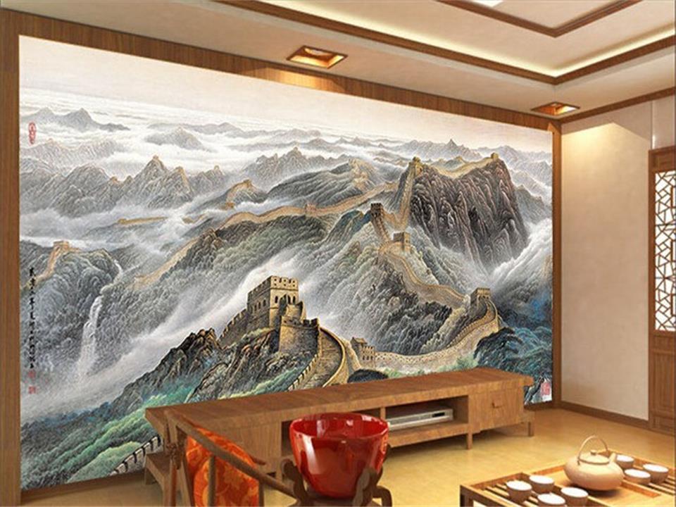 Aliexpress Com Buy Large Custom Mural Wallpapers Living: 3d Wallpaper Photo Wallpaper Custom Living Room Mural