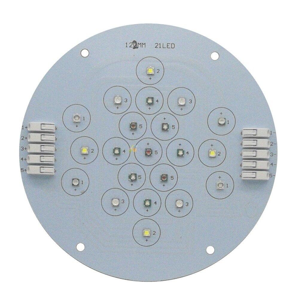5 canaux 21 Leds Cree + Epileds Led Corail Émetteur Lampe Lumière Pour bricolage Ecotch Marine XR30W XR15W G4 Pro Réservoir D'aquarium lumière Led - 2