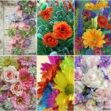 купить 5D DIY Diamond Painting chrysanthemum &Strawberrie Embroidery Diamond Painting Cross Stitch Rhinestone Mosaic Painting Flower дешево
