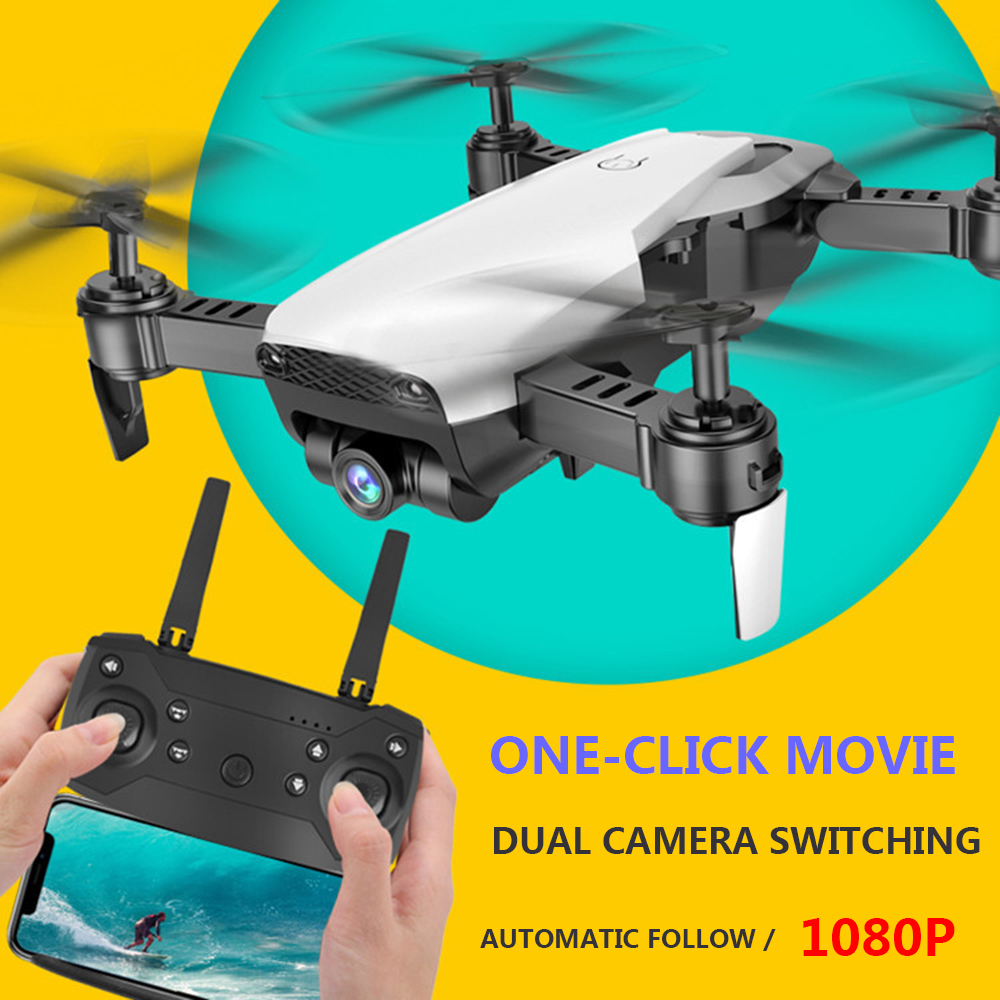 Image 5 - Drone S163 folding optical flow hover RC helicopter professional HD aerial four in one aircraft 1080p helicopter with camera-in RC Helicopters from Toys & Hobbies