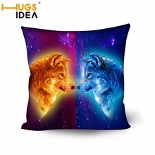 HUGSIDEA 3D Dinosaur Print Cushion Cover Animal Home Pillow Covers Square Pillow Case Sofa Pillowcase Back Cushion Case 50*50cm