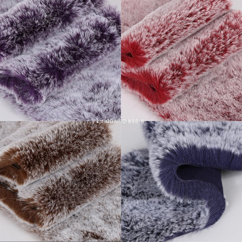 Pile 2cm thick Grass frost imitation fur coat jacket collar fabric,faux fur fabric,felt cloth,fabric for dolls,160cm*48cm/pcs
