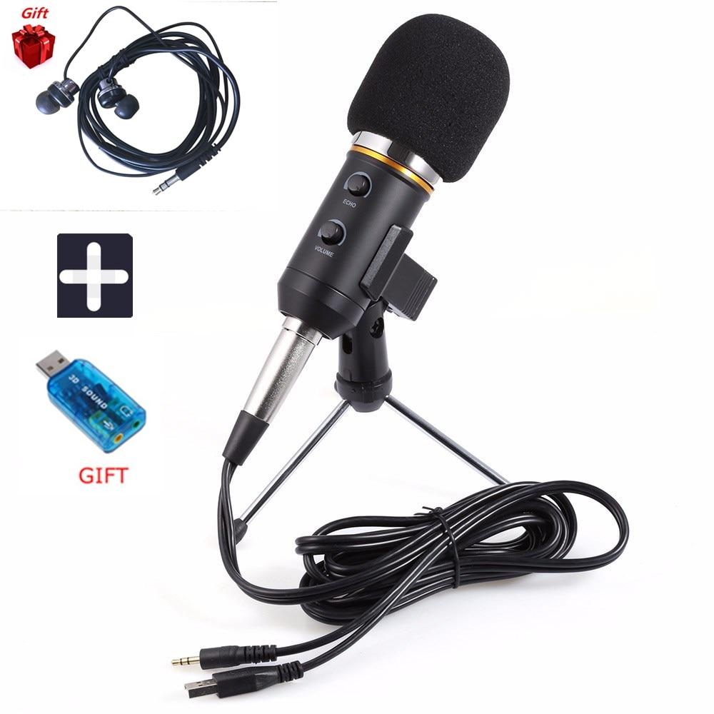 New MK-F200TL Microphone Adjustable Sound Volume Noise Reduction Condenser KTV Audio Studio Recording Mic Update MK-F100TL best quality yarmee multi functional condenser studio recording microphone xlr mic yr01