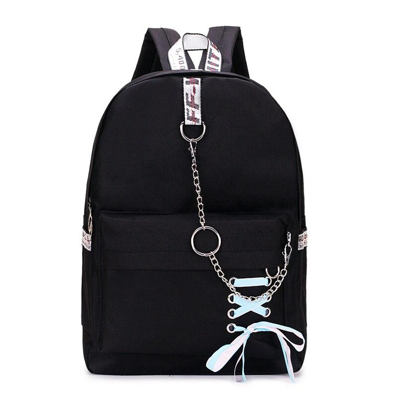 De las mujeres de la moda mochila mujer, mochila de Japón mochila Casual hombro bolsas para mujeres 2019 adolescente niñas clásico mochila