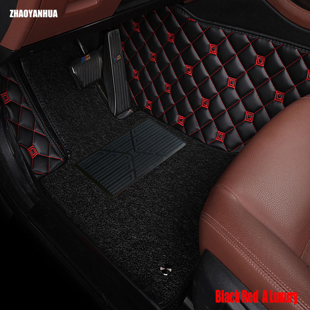 Aliexpresscom Buy Zhaoyanhua Car Floor Mats For Audi A6 C5 C6 C7