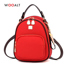 New Fashion Mini Backpack for Girls High Quality PU Leather Small Women Backpack Multi-Function Shoulder Travel Bags School Bags цена 2017