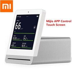 Xiaomi Mijia ekran IPS telefon komórkowy dotykowy operacji ClearGrass Monitor powietrza Retina dotykowy kryty odkryty detektor powietrza pracy aplikacji Mijia 1