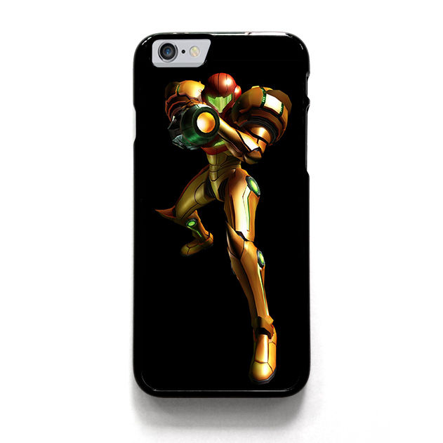 METROID SAMUS ARAN POWER SUIT.jpg fashion cell phone case cover for iphone 4 4s 5 5s 5c SE 6 6s plus 7 7 plus &mm288