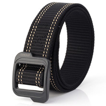 цена на Men Belt Fashionable Knitted Military Uniforms Tactical Alloy Buckle Army Women Belts Canvas Men's Designer Waistband