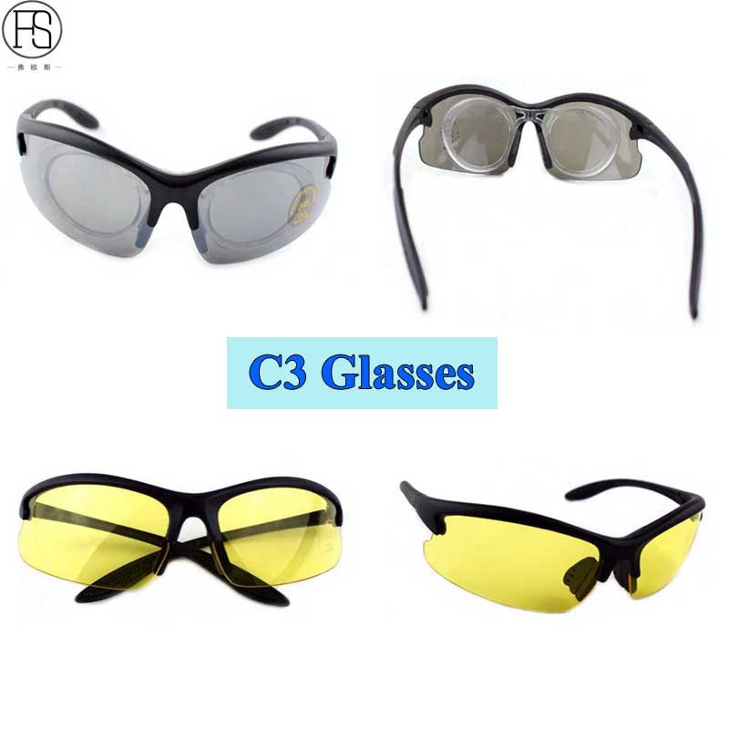 Good Riding Equipment FS C3 Oculos Ciclismo Desert Windproof Glasses Outdoor Sports Goggles UV400 Eye Protective Sunglasses