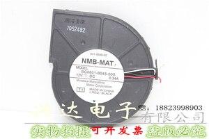 Подлинная 8 см 8018 DC12V 0.34A BG0801-B045-00S сервер турбинный вентилятор