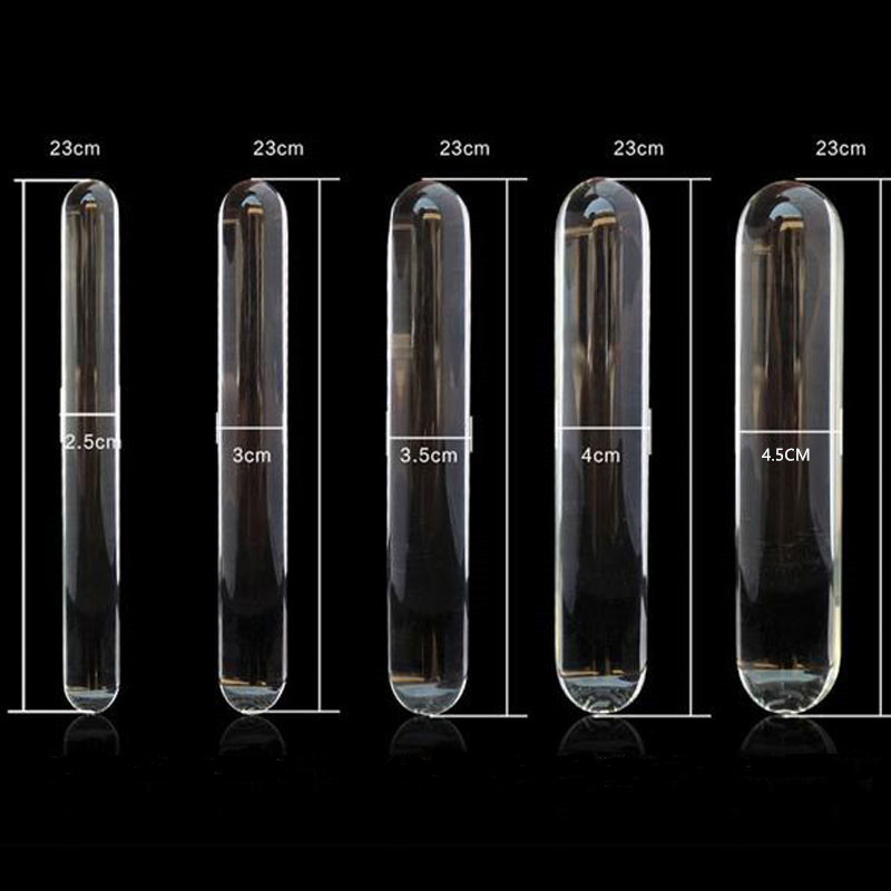 23cm-Double-heads-butt-plug-glass-dildo-and-Clean-and-sanitary-Huge-glass-dildo-Crystal-anal