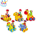 Hot (Set of 5) Baby Push and Go Friction Powered Animal Cars Fun Toys Stocking Stuffer Toy For Children Boy Kids Huile Toys 366X