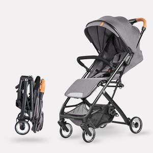 5.7Kg Lightweight Baby Stroller Bebek Arabasi Poussette Kinderwagen Luxury Hot Mom Stroller Folding Portable Baby Stroller Cart