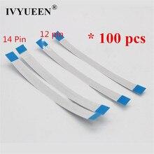 Ivyueen 100 pçs 12 14 10 pinos botão de alimentação fita para dualshock 4 ps4 magro pro controlador cabo interno flex