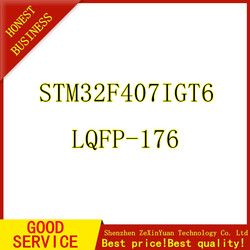 5 sztuk STM32F407IGT6 LQFP-176 nowy oryginał 32-bitowy mikrokontroler