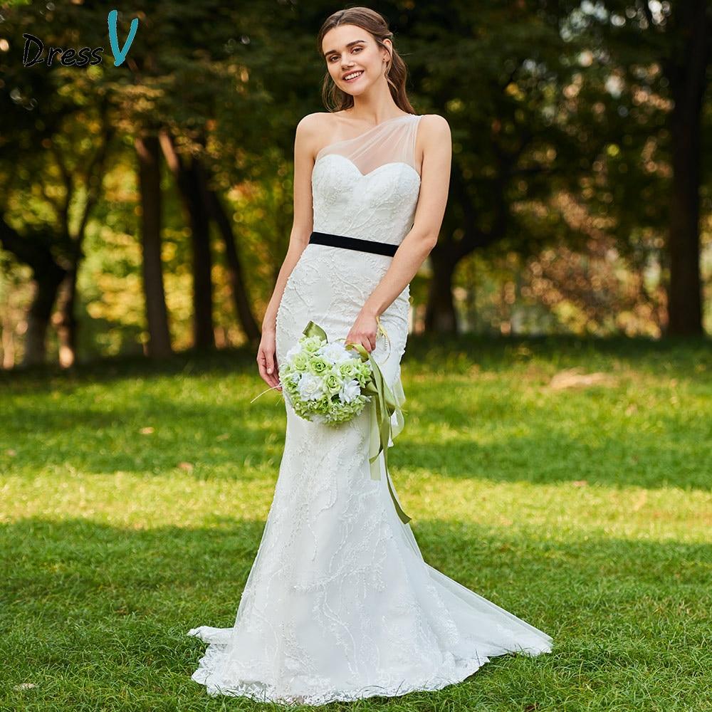 Aliexpress.com : Buy Dressv Ivory Wedding Dress One
