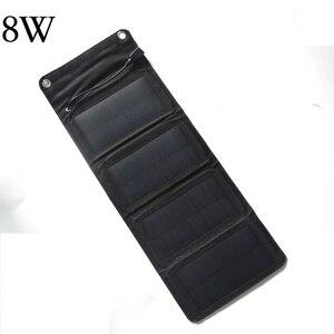 Image 2 - BUHESHUI 10 W 5 V Açık GÜNEŞ PANELI Şarj Cihazı/iphone/Cep Telefonu/Güç Bankası 8 W 6 W Güneş pil şarj cihazı Ücretsiz Kargo