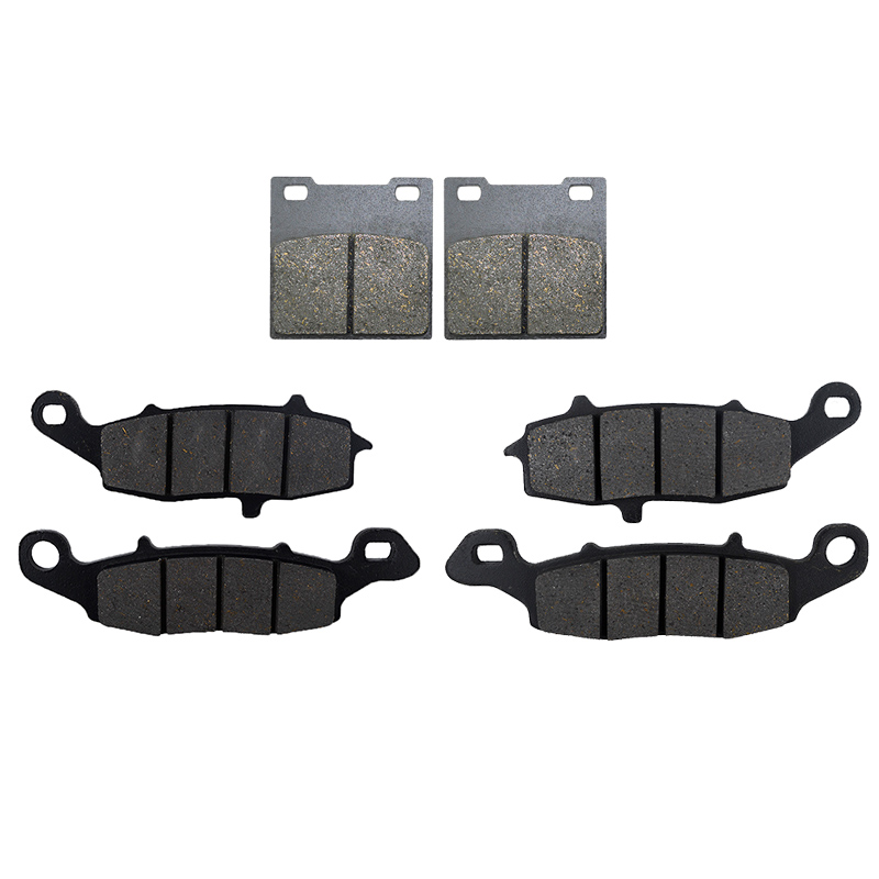 Motorcycle Front and Rear Brake Pad For Suzuki GSX 600F 1998-2006 GSX 750F 1998-2006 GSF600 Bandit 600 2000-2004 SV650 1999-2002 motorcycle front and rear brake pads for suzuki gsx 750 gsx750 f katana 1998 2006 black brake disc pad