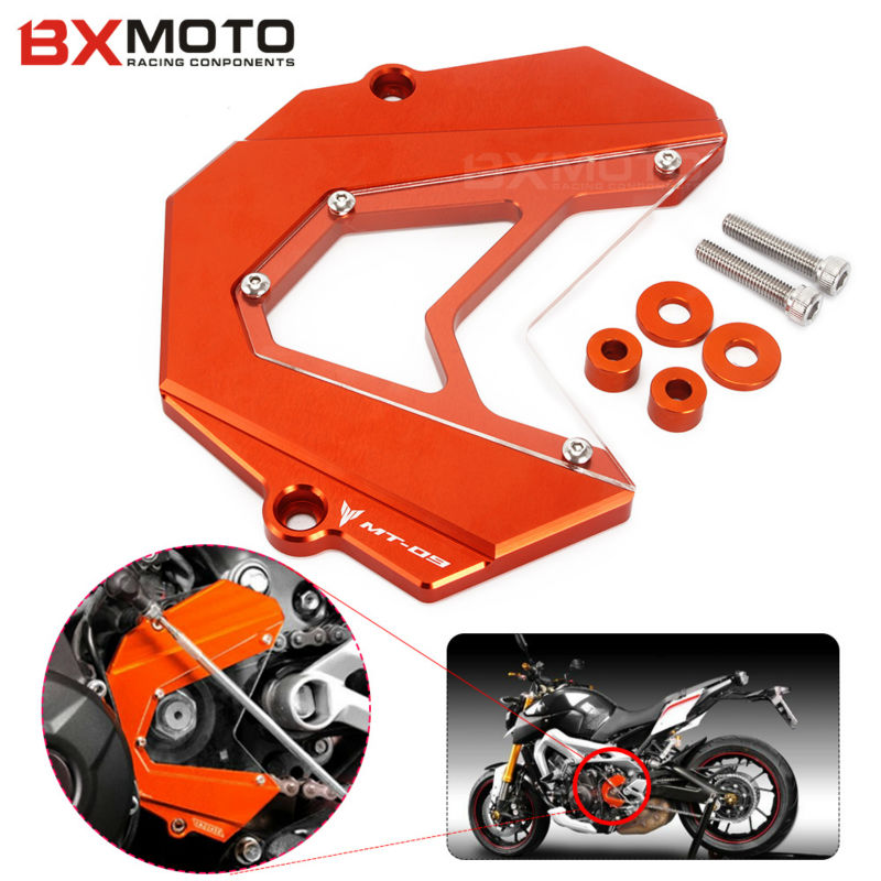 BXMOTO Motorcycle accessories motorbike CNC Aluminum Front Sprocket Cover For Yamaha MT-09 MT 09 MT09 FZ09 FZ9 FZ 09 2013-2015 for yamaha mt 07 fz 07 mt07 cnc aluminum front sprocket cover motorcycle part for yamaha mt07 fz07 2014 2015 2016 100% brand new