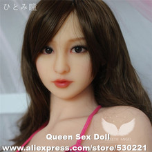WMDOLL Top quality TPE sex doll head for adult dolls, japanese sex toy men, oral silicone sexy doll