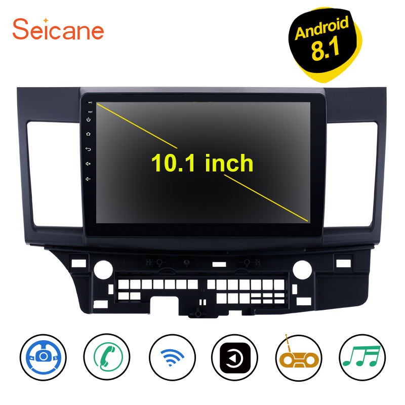 Seicane For Mitsubishi Lancer ex 2008 2009 2010 2011 2012 2013 2014 2015 Android 8 1