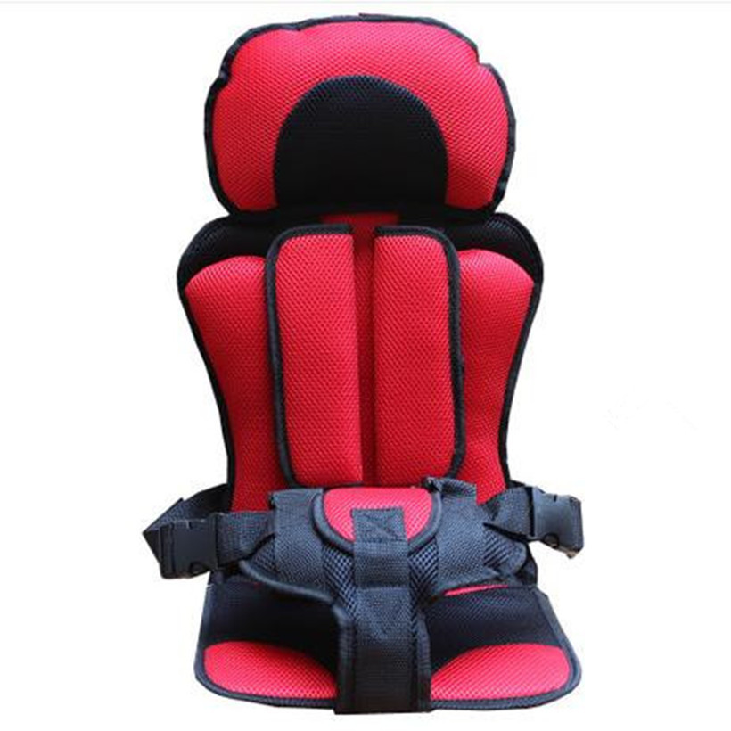 Safety Car Portable Thicken Baby Children's Car Seat Soft Breathable