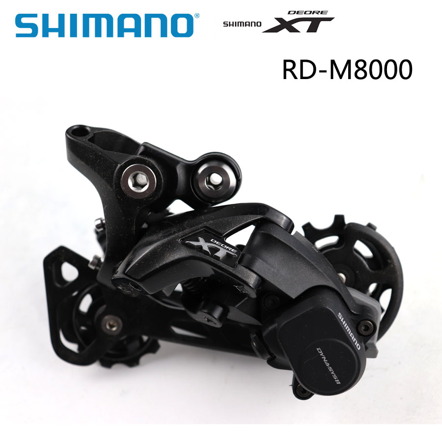 Shimano XT RD M8000 Rear Derailleur 11 Speed GS/SGS Medium/Long Cage Mountain Bike MTB Shadow RD+